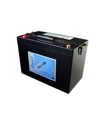 Akumulator żelowy HAZE HZB 100 Ah - rozruchowy