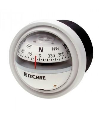 Kompas Ritchie V-57W.2 skośny - biały